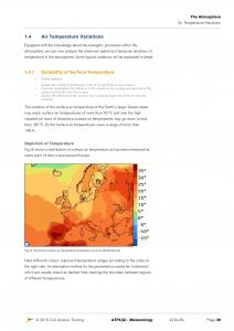 Auszug aus CAT Meteorologie Englisch